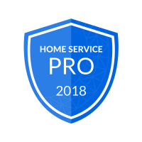 2018 Home Service Pro Badge